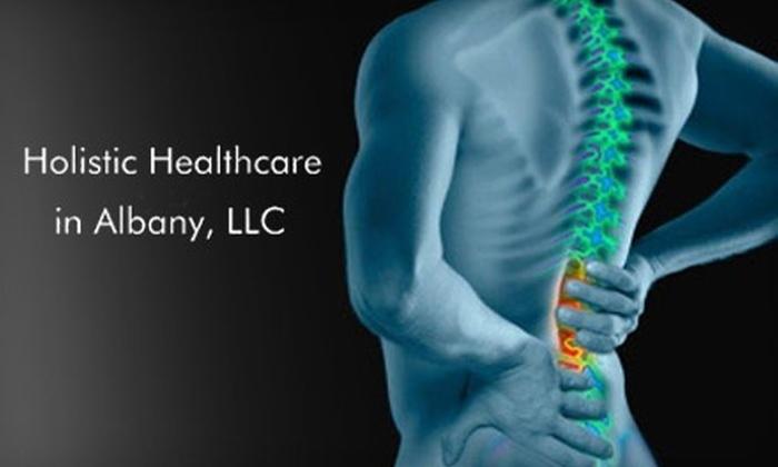 Holistic Healthcare  - Wildcross: $35 for a Chiropractic Adjustment at Holistic Healthcare ($75 Value)