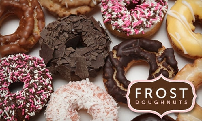 Frost Doughnuts - Mill Creek Town Center Business Park: $8 for a Dozen Mix & Match Doughnuts at FROST Doughnuts (Up to $22.28 Value)