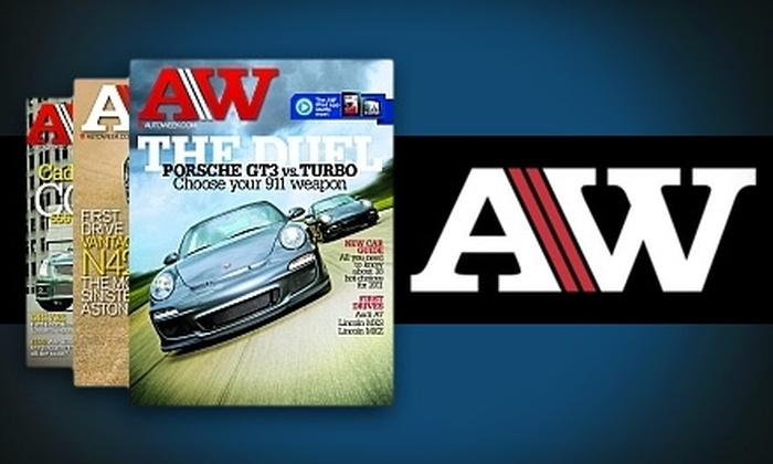 """""""AutoWeek"""" - Corpus Christi: $13 for a One-Year Subscription to """"AutoWeek"""" (Up to a $30 Value)"""