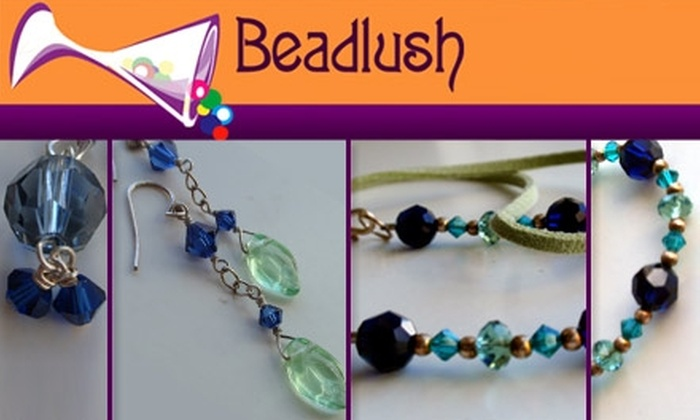 Beadlush - Commonwealth: $20 for a Jewelry-Making Class at Beadlush ($40 Value)