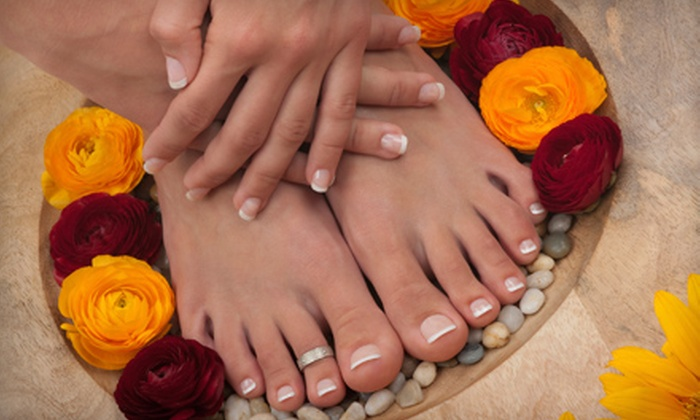 Bel Mondo Salon and Day Spa - Temecula Regional Center: $30 for a Deluxe Spa Mani-Pedi at Bel Mondo Salon and Day Spa in Temecula