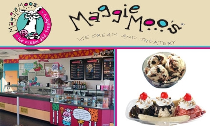 Maggie Moo's Ice Cream & Treatery - Green Hills: $10 for $20 Worth of Maggie Moo's Ice Cream and Treats