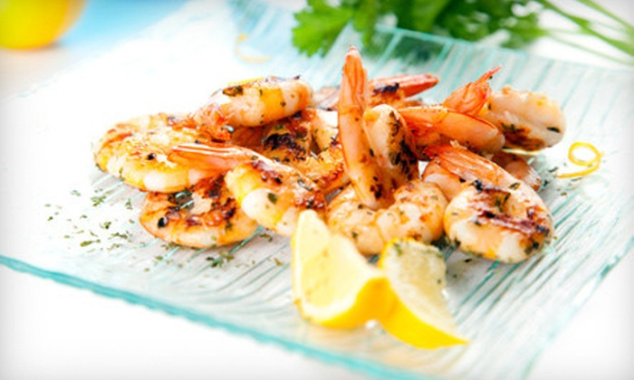 River Shack Restaurant - Bayside: $10 for $20 Worth of Southern Fare at River Shack Restaurant