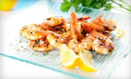 $20 Groupon to River Shack Restaurant - River Shack Restaurant in Mobile