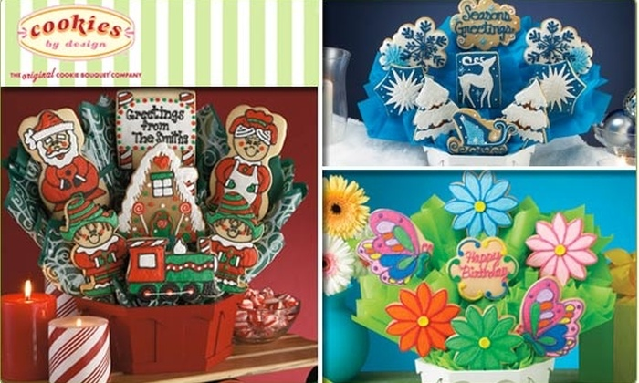 Cookies By Design - Santee: $30 for $60 Worth of Customized Cookie Bouquets at Cookies by Design