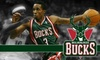Milwaukee Bucks game - Kilbourn Town: Ticket to a Milwaukee Bucks Game (Up to $110.35 Value). Choose from Two Seating Levels and Three Games.