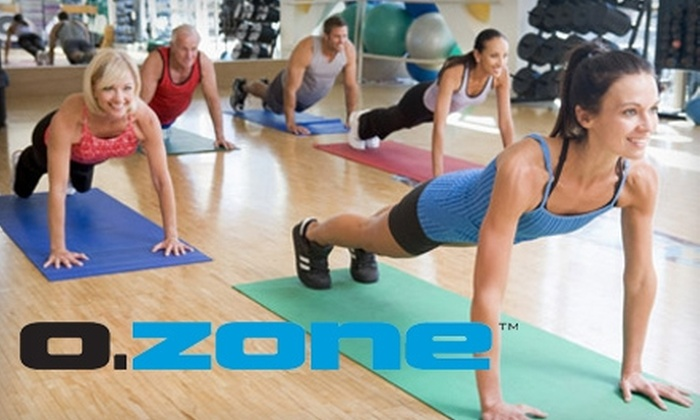 OZone Fit - Draper: $39 for a One-Month Membership to OZone Fit in Draper ($99.95 value)