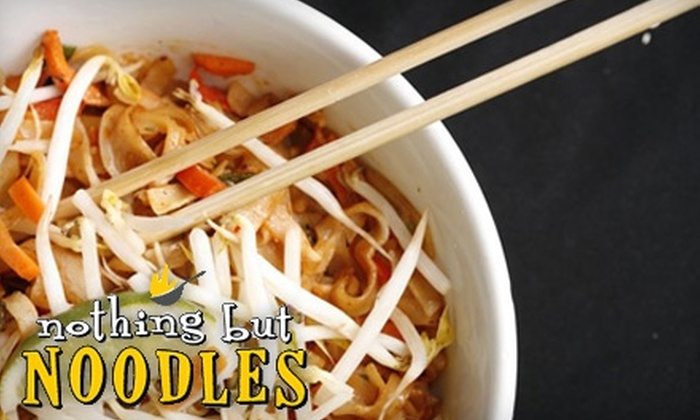 Nothing but Noodles - El Paso: $5 for $10 Worth of Noodles & More at Nothing but Noodles