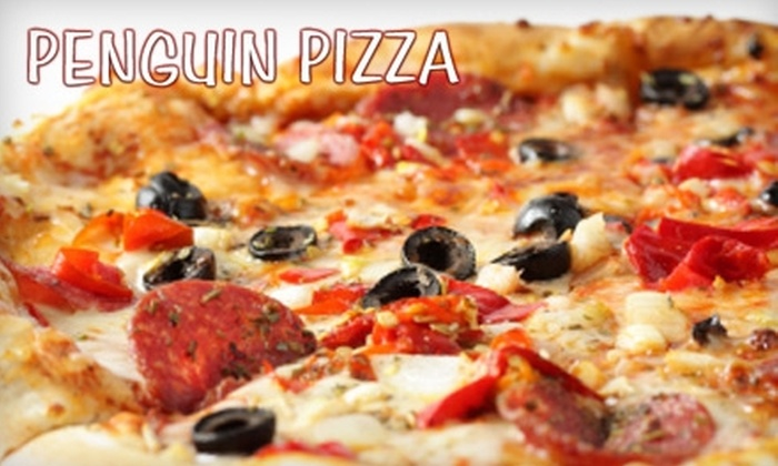 Penguin Pizza - Fenway/Kenmore: $10 for $20 Worth of Slices at Penguin Pizza