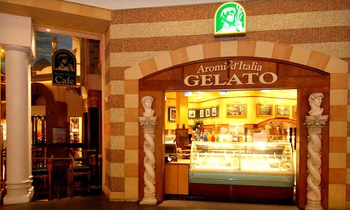 Aromi d' Italia - The Strip: $6 for $12 Worth of Paninis, Pizzas, and Gelato at Aromi d' Italia