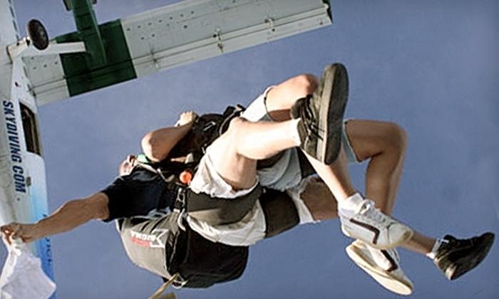 Skydive Georgia - Columbus GA: $114 for a Tandem-Skydiving Jump from Skydive Georgia in Cedartown ($229 Value)