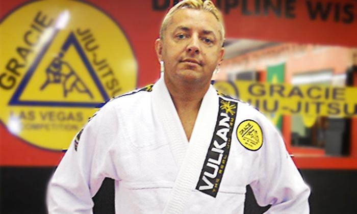 Gracie Jiu Jitsu Las Vegas - Las Vegas: $49 for One Month of Unlimited Martial Arts Classes at Gracie Jiu Jitsu Las Vegas (Up to $200 Value)
