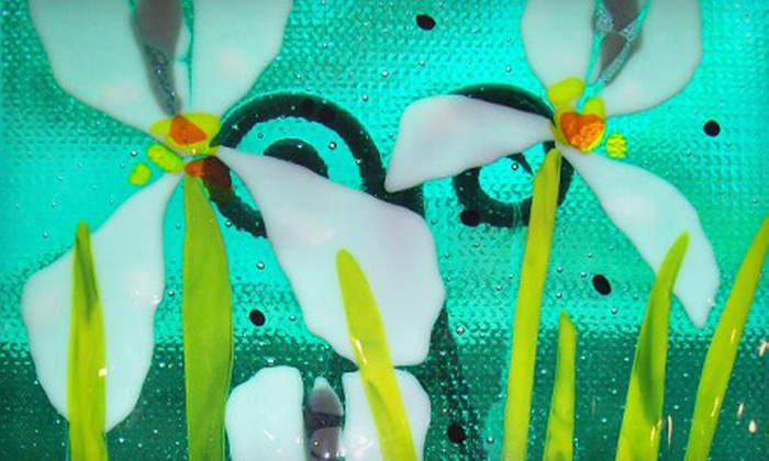 MorArt - Salem OR: $47 for Fused-Glass-Making Class at MorArt in Lincoln City ($95 Value)