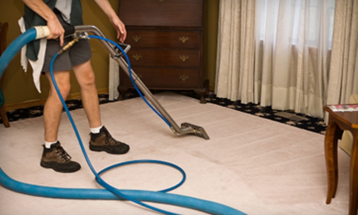 Atlantic Oceans Inc - Northwest Virginia Beach: $49 for Carpet Cleaning in Five Rooms and One Hallway from Atlantic Oceans Inc. ($99.99 Value)