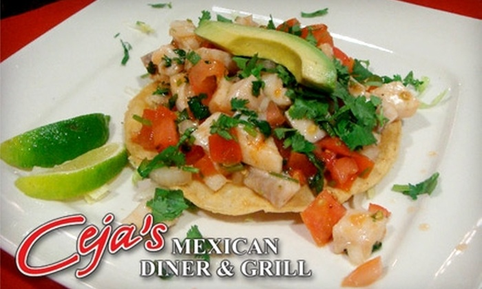 Ceja's Mexican Diner & Grill - Ivey Ranch / Rancho Del Oro: $7 for $15 Worth of Fast-Casual Mexican Fare at Ceja's Mexican Diner & Grill