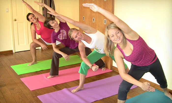 Sunny Shore Yoga - Chattanooga: 5, 10, or 20 Classes at Sunny Shore Yoga (Up to 67% Off)