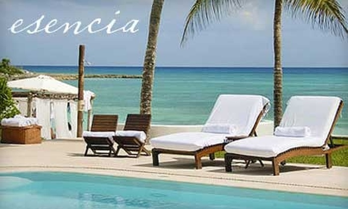 Esencia - University of Texas - Austin: $249 for a One-Night Stay in a Luxury Resort Garden Suite at Esencia in Playa del Carmen, Mexico (Up to $665 Value)