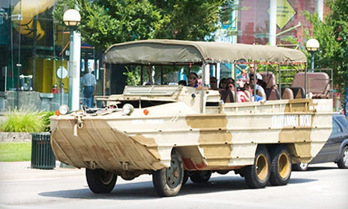 Chattanooga Ducks - Downtown Chattanooga: Adult or Child Admission for an Amphibious-Vehicle Tour of the Tennessee River from Chattanooga Ducks (Half Off)