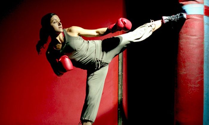 Gifted Bodies - Multiple Locations: 10 or 20 Cardio-Kickboxing or Fat-Loss Boot-Camp Classes at Gifted Bodies (Up to 84% Off)