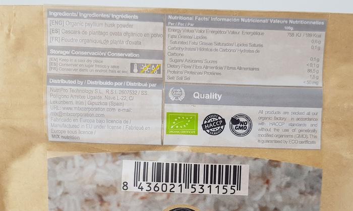 Psyllium Husk Powder | Groupon Goods