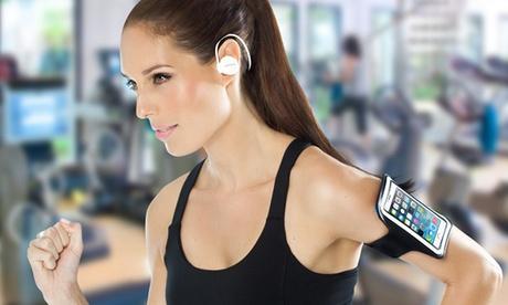 Cuffie wireless sport Avanca S1 e fascia per iPhone e Samsung. Vari modelli disponibili
