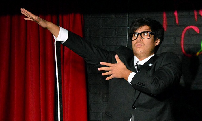 """Sketchy Magic - The Crimson Lounge at The Cage 292: """"Sketchy Magic"""" Comedy Magic Show at the Crimson Lounge on April 7, 14, 21, or 28 (Up to 52% Off)"""