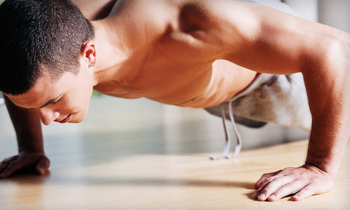 Fulcrum Fitness - Multiple Locations: Boot Camp or Personal Training at Fulcrum Fitness (Up to 66% Off). Three Options Available.