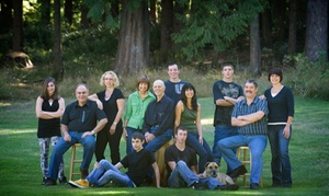 "Imagemakers Photography Studio: CC$59 for Group Photo Shoot with 5""x7"" Laminated Portrait at Imagemakers Photography Studio (CC$275 Value)"
