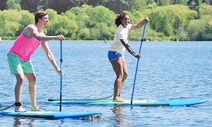 Northwest Paddle Surfers: Two-Hour Standup-Paddleboard Rental for One, Two, or Four from Northwest Paddle Surfers (Up to 50% Off)