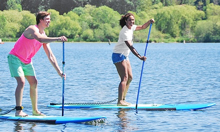 Two-Hour Standup-Paddleboard Rental for One, Two, or Four from Northwest Paddle Surfers (Up to 53% Off)