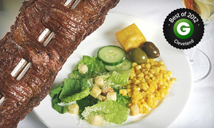 Brasa Grill - Downtown: $30 for $60 Worth of Brazilian Steak-House Cuisine for Dinner at Brasa Grill