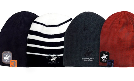 Beverly Hills Polo Club Men's Beanies. Multiple Styles Available.