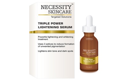 Necessity Skincare Triple Power Lightening Serum; 1 fl. oz.