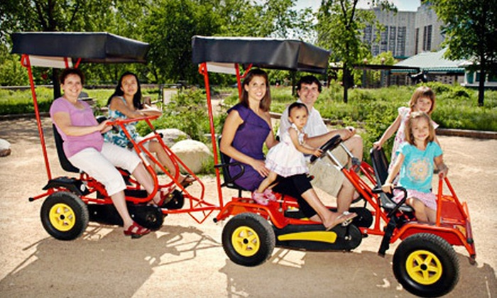 Bee2Gether Tandem Bike Rentals & Sales - Downtown Winnipeg: $15 for a One-Hour Rental of a Four-Person Buggy Bike from Bee2Gether Tandem Bike Rentals & Sales ($30 Value)