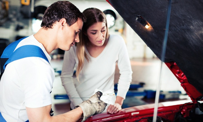 A-Plus Auto Service Center - Gilroy: One or Three Regular or Synthetic Oil Changes with Maintenance Packages at A-Plus Auto Service Center (Up to 76% Off)