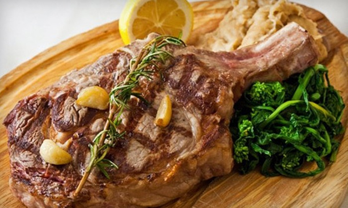 Trattoria Cinque - Tribeca: Upscale Italian Meal for Two or Four at Trattoria Cinque (Up to 65% Off).