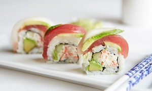 Tabu Sushi Bar & Grill: Japanese Cuisine at Tabu Sushi Bar & Grill (Up to 41% Off). Two Options Available.