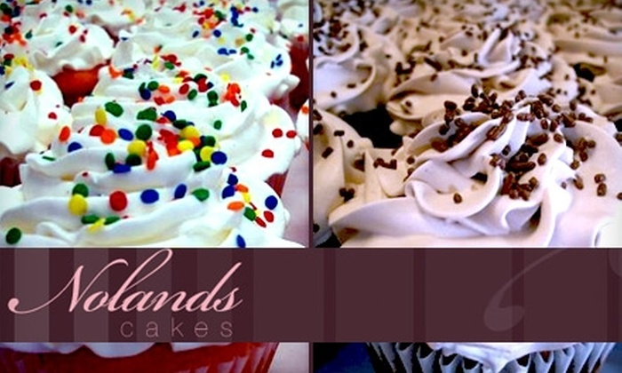 Noland's Cakes - Pleasanton: $18 for a Dozen Cupcakes from Noland's Cakes ($36 Value)