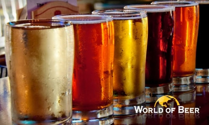World of Beer - Bradenton: $15 for $30 Worth of Beer and Appetizers at World of Beer