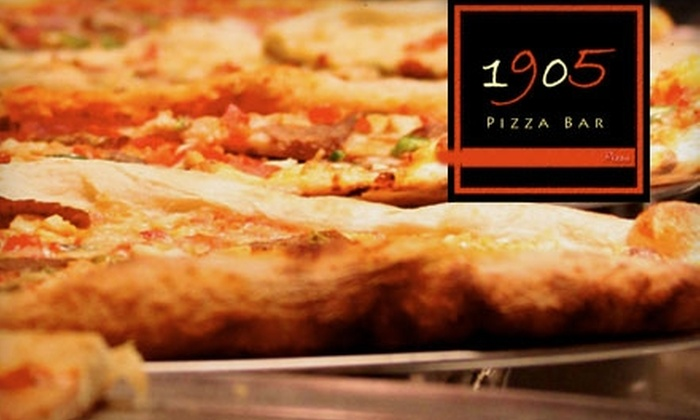 1905 Pizza Bar - Lakefield: $5 for $10 Worth of New York–Style Pizza at 1905 Pizza Bar in Sugar Land