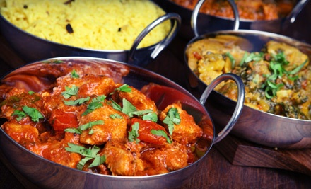 $20 Groupon for Dinner - Raj's Rasoi in Maryland Heights