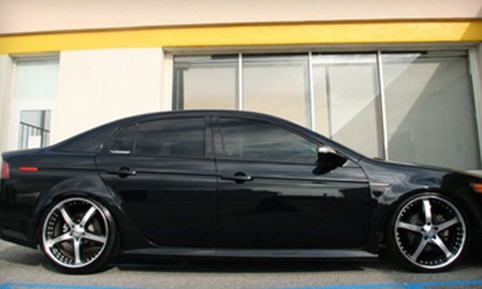 The Carshop - Alhambra: Car Tinting for Five Windows with MaxPro HP Film or 3M FX Premium Tint at The Carshop in Alhambra