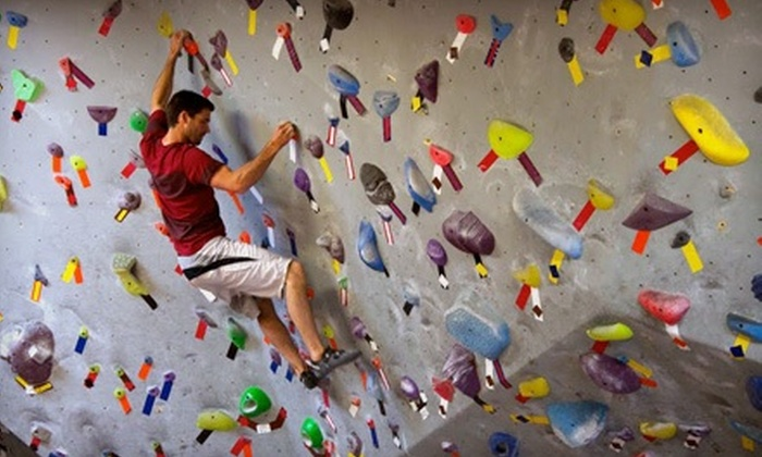 Vital Climbing Gym - Multiple Locations: 10-Visit Punch Card, One-Month Membership, or Two-Month Membership at Vital Climbing Gym (Up to 57% Off)