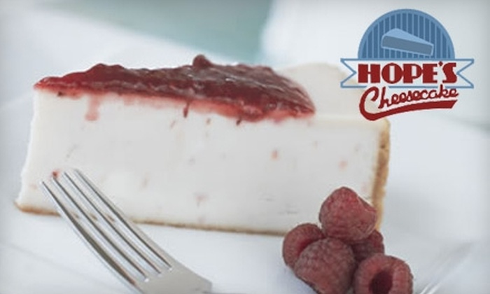 Hope's Cheesecake - Gulf Shores: $20 for $40 Worth of Cheesecake at Hope's Cheesecake in Gulf Shores