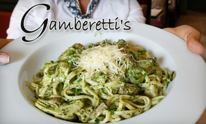 Gamberetti's - Highland: $12 for $30 Worth of Italian Cuisine and Drinks at Gamberetti's