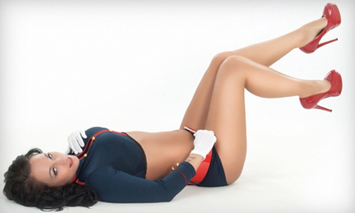 Retro Vice - Pheobus: Pin-Up or Pin-Up Deluxe Calendar Photo-Shoot Package at Retro Vice (Up to 57% Off)