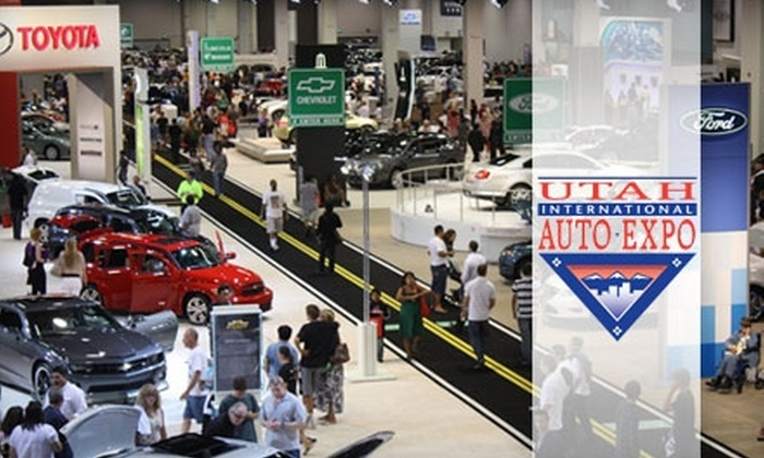 2011 Utah International Auto Expo - Sandy: $3 for Admission to the 2011 Utah International Auto Expo (Up to $7 Value)