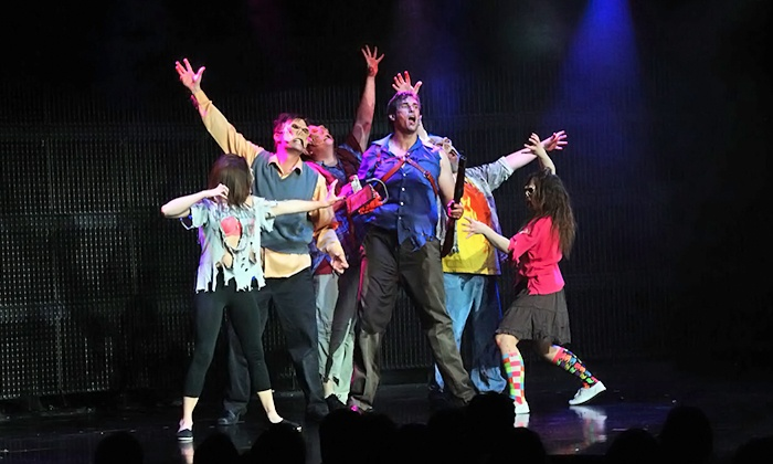 """Evil Dead The Musical - Ultimate 4D Experience - Tommy Wind Theater: """"Evil Dead: The Musical 4D"""" on Tuesday–Saturday at 7:30 p.m."""