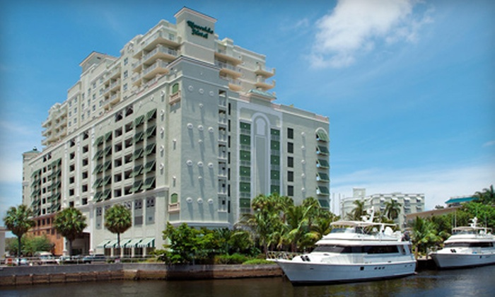 Riverside Hotel - Downtown Fort Lauderdale: $95 for a One-Night Stay for Two and One Kid in an Executive Tower King Room at Riverside Hotel in Florida