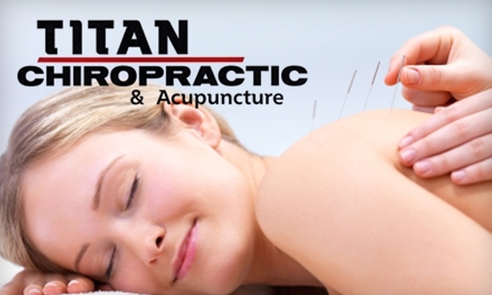 Titan Chiropractic - Maize: $24 for an Acupuncture Session and Spinal Exam at Titan Chiropractic in Maize ($300 Value)